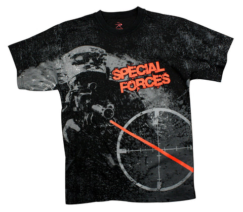 Vintage Black 'Special Forces' T-Shirt