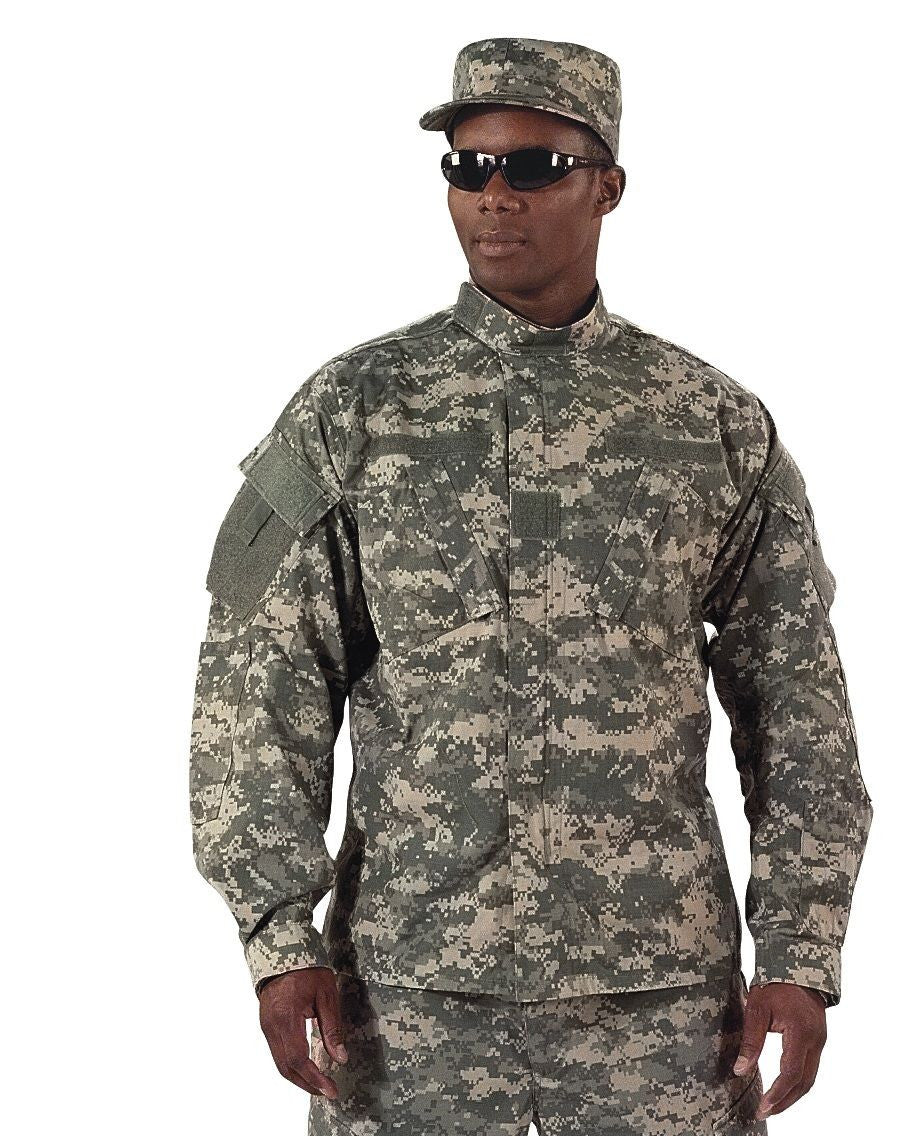 acu digital military uniform shirt army combat mil spec grunt