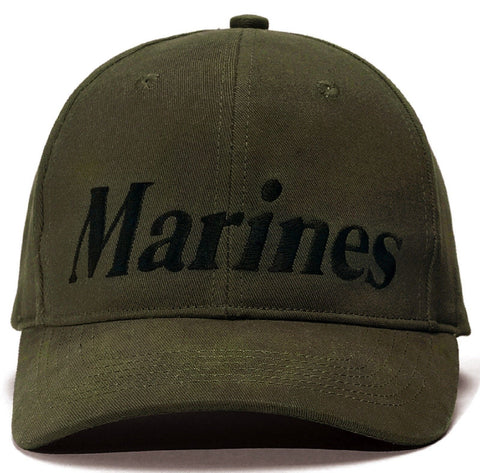 Marines - Olive Drab - Low Profile Baseball Hat