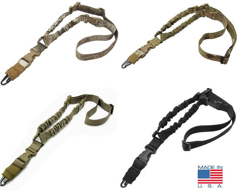 Condor COBRA One Point Bungee Sling - MultiCam, Black - Made in U.S.A.