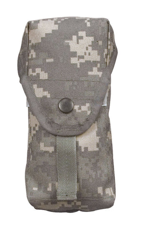 MOLLE 2 Mag Ammo Pouch Holder - ACU Digital With Grommet Hole