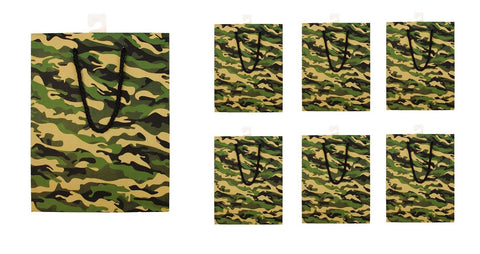 Camouflage Gift Bag In Bulk Camo Wedding Birthday Party Christmas Present Bags