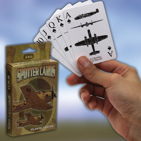 "World War II Spotter Playing Cards ""CE"" - Learn The Aircraft As You Play"