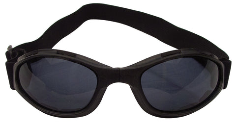 Black Tactical Goggle - Lightweight Anti-Fog/Scratch Lens CE Approved