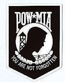P.O.W./ M.I.A. Window Decal