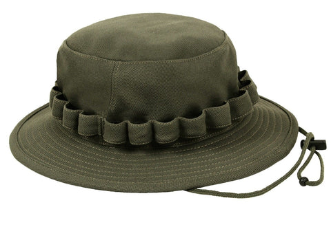 0e4498ac6e8dc Moisture Wicking Boonie Hat Black   OD Coolweight Breathable Vented Bu –  Grunt Force