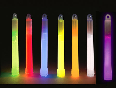 Glowsticks TEN PACK Chemical Glow In The Dark Lightsticks 10 Rave Glow Sticks