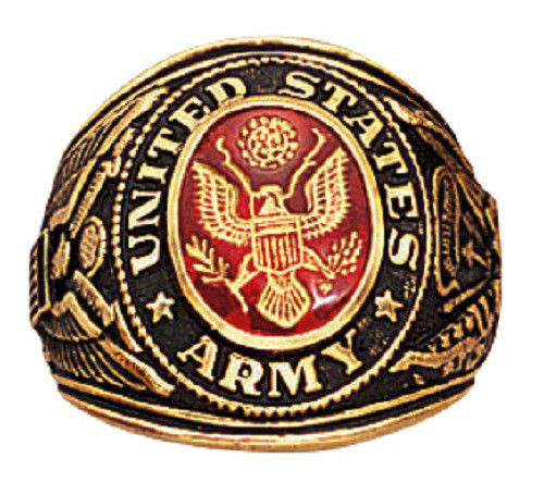 Deluxe Military Rings Army Navy Sp Forces Marines