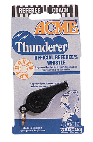 """ACME"" Thunderer Whistle - Official International Referee's Whistle"