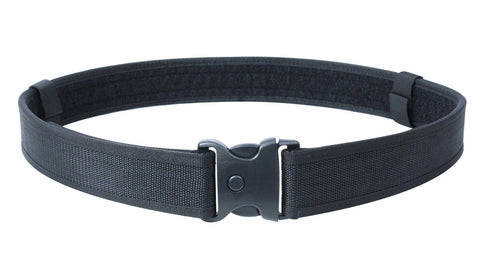 Black Deluxe Triple Retention Duty Security Police Belt - Available in M, L, XL