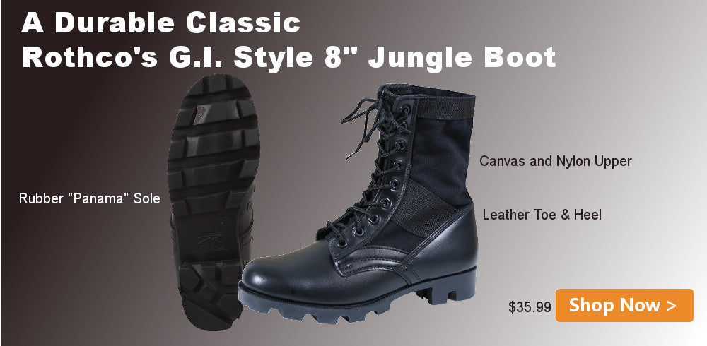 Rothco G.I. Type Jungle Boots