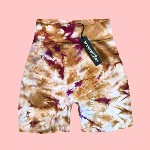 Crinkle Crush || Hand-dyed (High Rise) Shorts