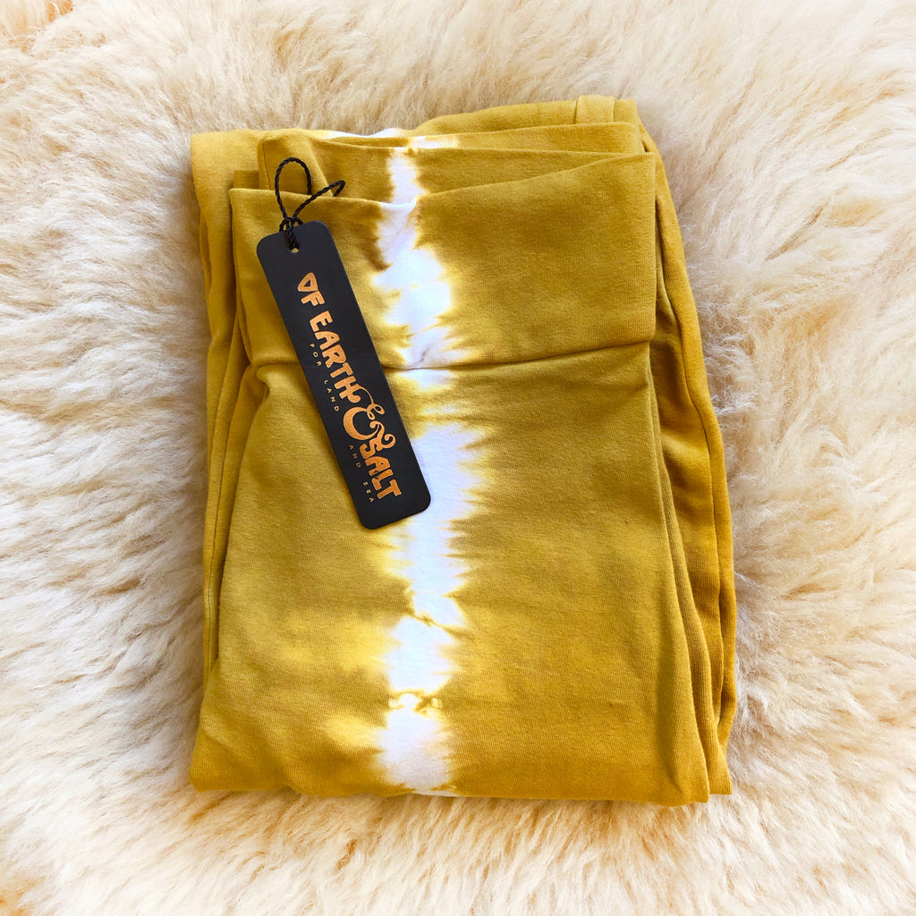 *NEW* Gold Dust Leggings || Feather