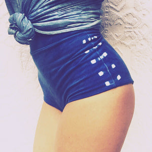 The Mariachi High Waisted Indigo Undies