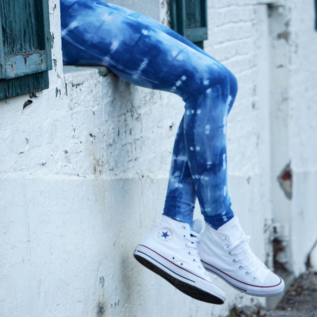 Nirvana Natural Indigo Leggings