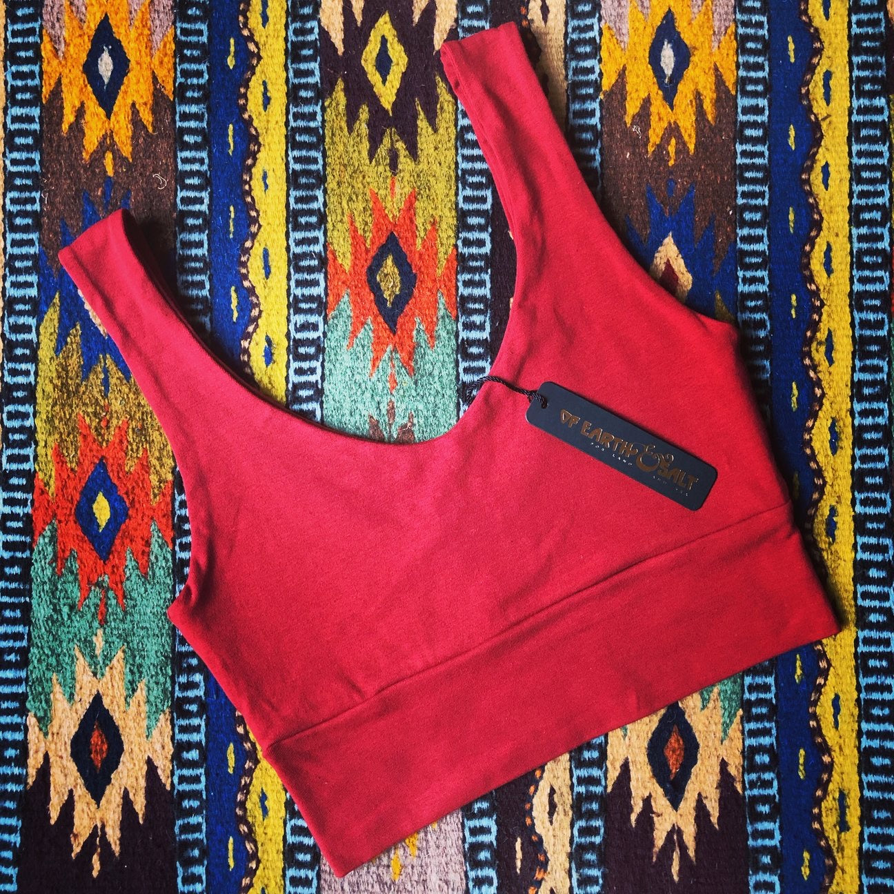 Double Trouble High Waisted Undies || Carmine Cotton