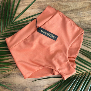 Favorite High Waisted Swim Bottoms || COPPER