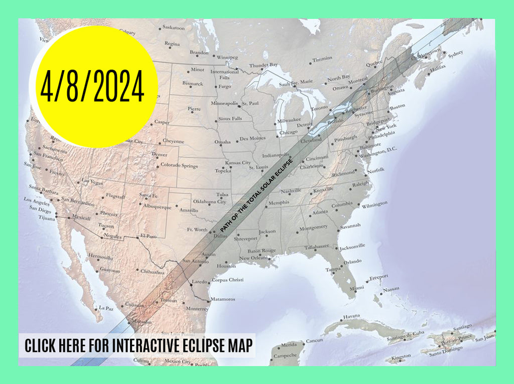 Total Solar Eclipse 2024 North American Eclipse