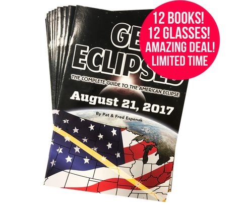 """Get Eclipsed"" Book (Special 12 Pack)"