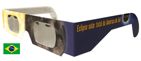 Brazil Heat Eclipse Glasses