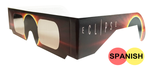 Spanish Burning Sun Eclipse Glasses