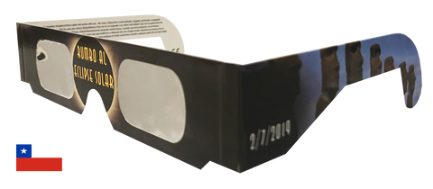 Chile Solar Sky Eclipse Glasses