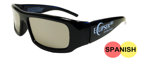 Plastic Eclipse Glasses (SPANISH)