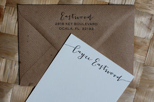 Jacques Personalised Stationery