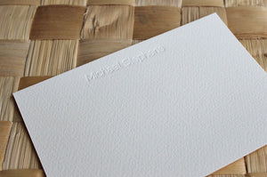Men's Personalised Stationery - Raleway