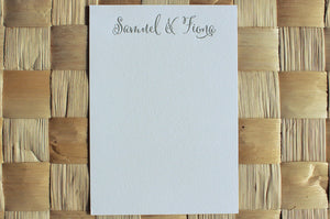 Cantoni Couple's Stationery