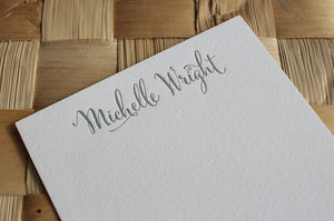 Cantoni Personalised Stationery