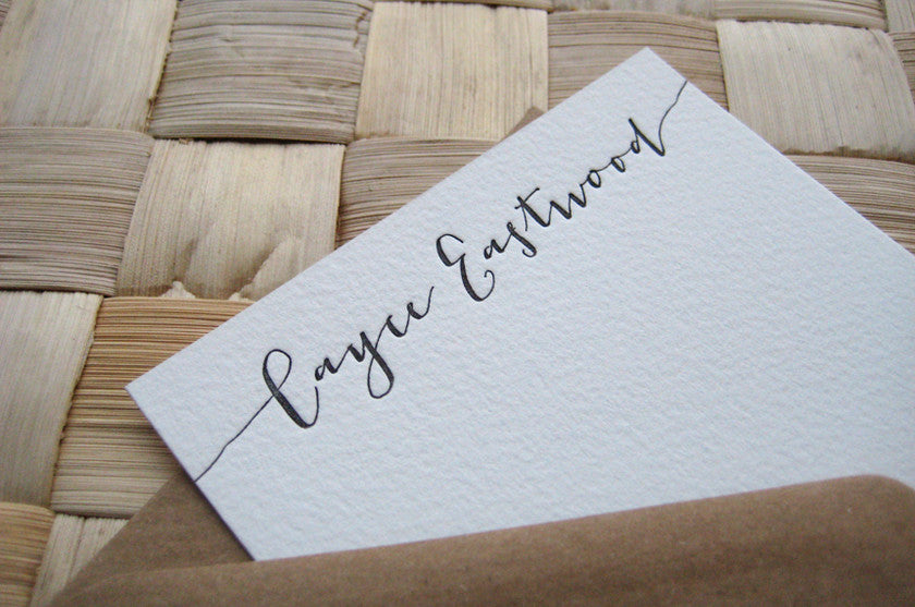 Custom Stationery