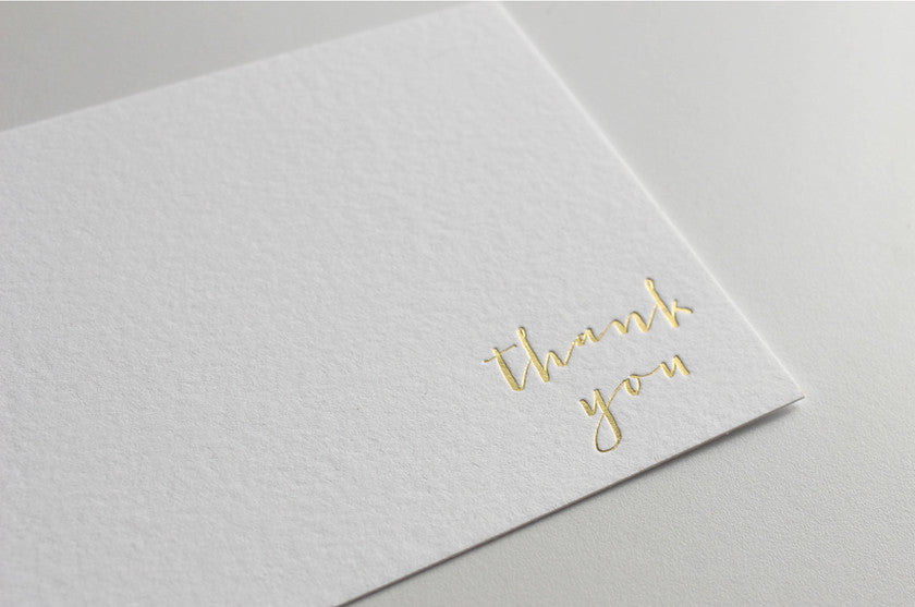 Foil Printed Stationery