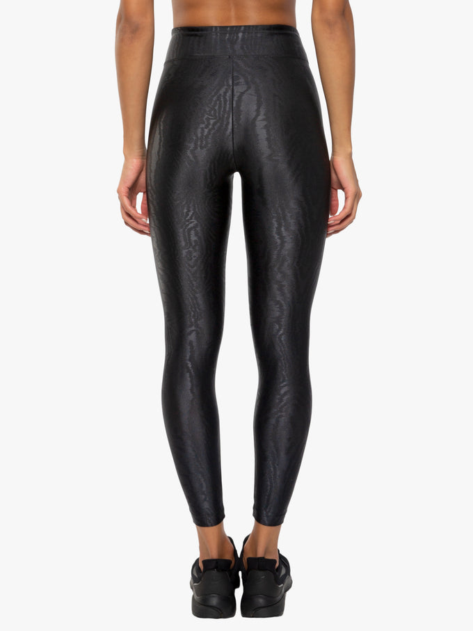 Nighttime High Rise Cropped Legging - Vertigo Black