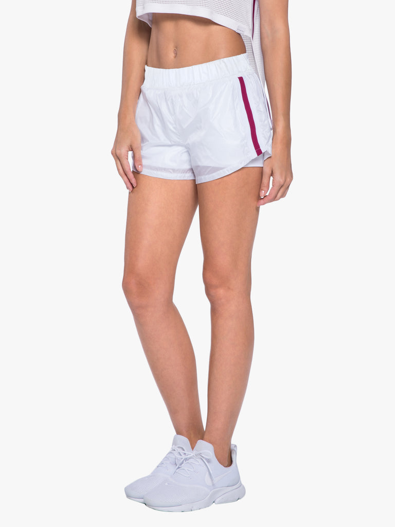 Sway Double Layer Short - White