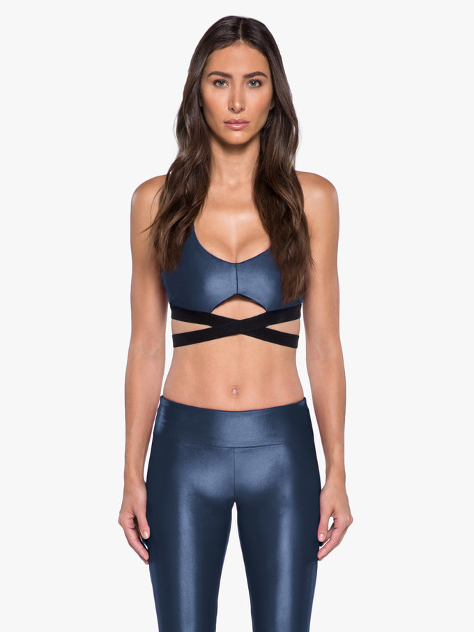 Advance Versatility Sports Bra - Midnight Blue