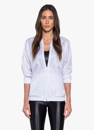 Dash Jacket - White/Black