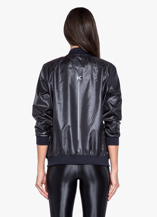 Dash Jacket - Black/White