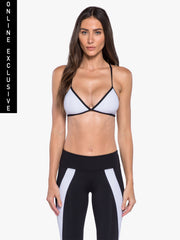 Primary Netz Bra - Black/White