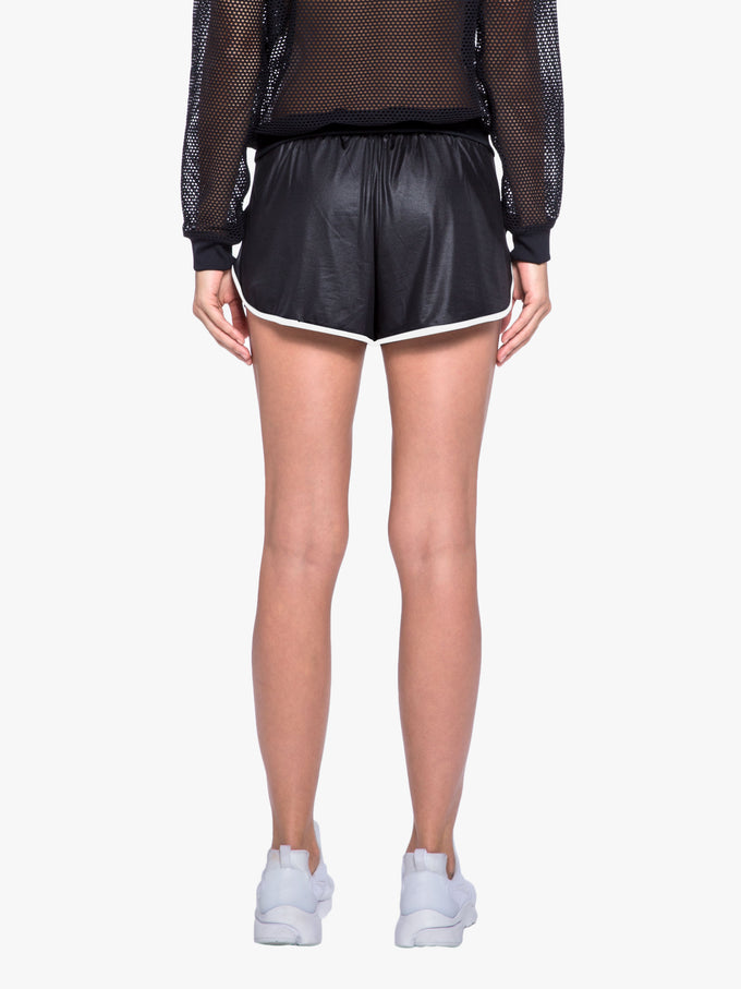 Scout Double Layer Short - Black/White