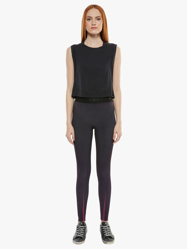 Aden High Rise Noir Legging