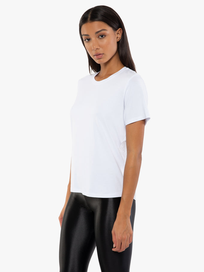 Arabela Brisa Short Sleeve T-Shirt - White