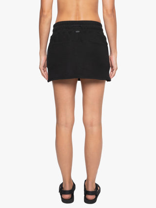 Serein Matte Skirt- Black/Verde