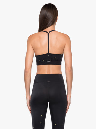 Bespoke Impression Sports Bra - Constellation Black