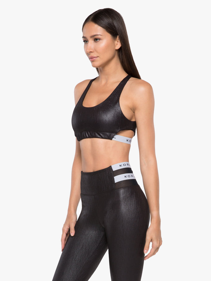 Beta Obscure Sports Bra - Black