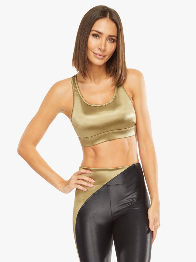 Bermuda Satin Sports Bra