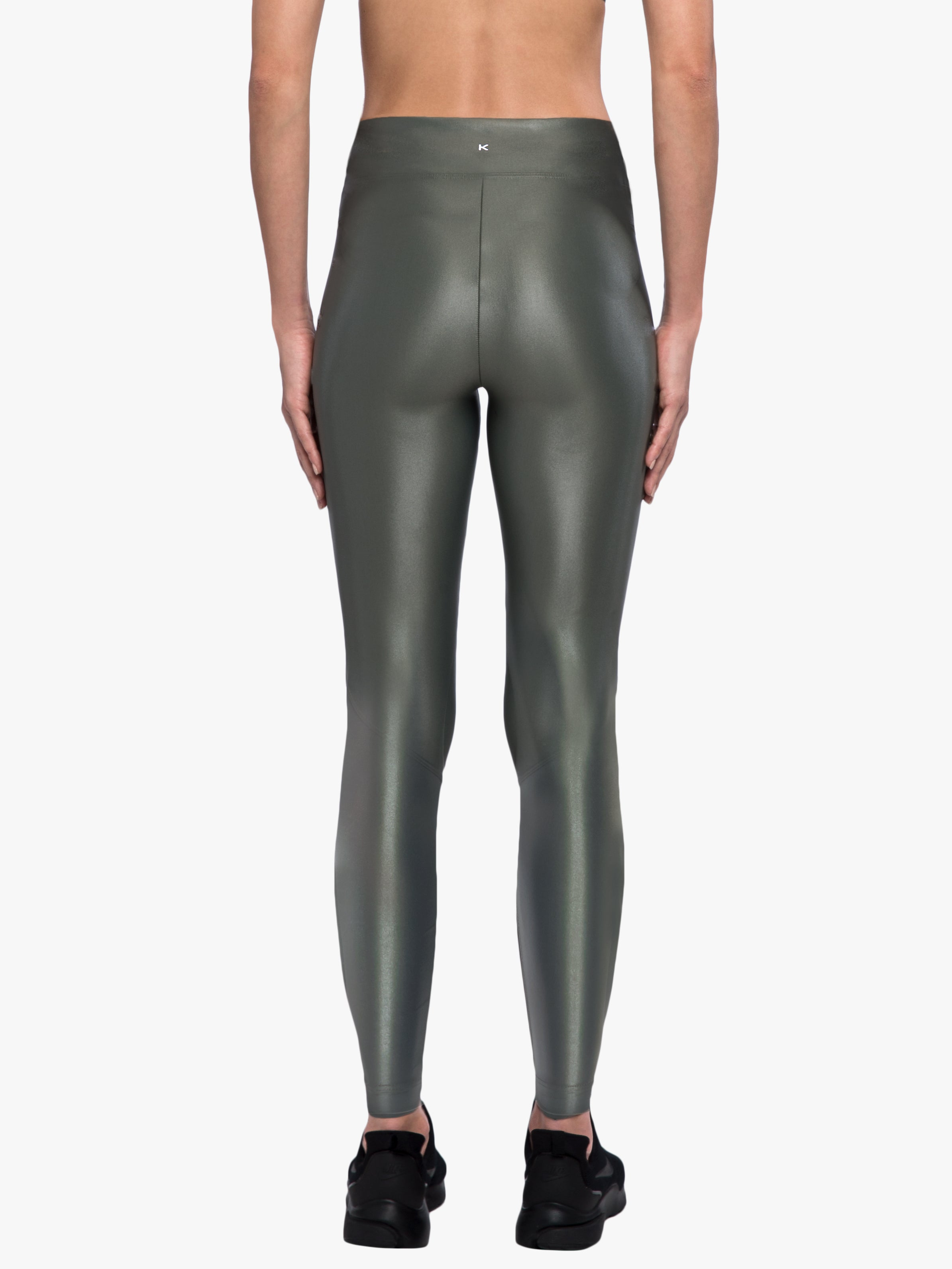 Lustrous High Rise Legging - Agave