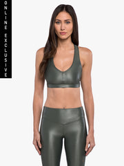 Cover Infinity Sports Bra - Agave