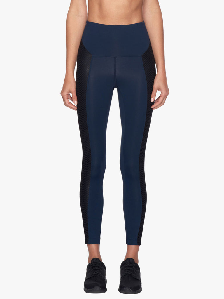 Clementine High Rise Legging - Midnight Blue/Black