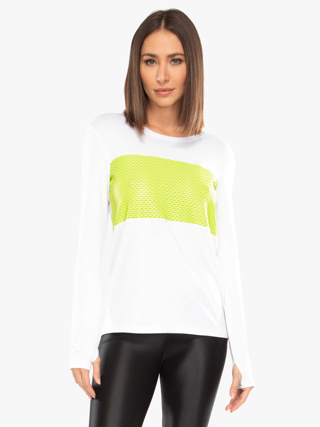 Color Block Brisa Top